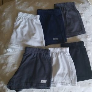 LOT of 6 SOFFE shorts